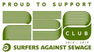 Surfers Against Sewage 250 Club 2018-2019