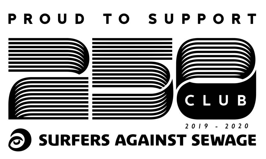 Surfers Against Sewage 250 Club logo